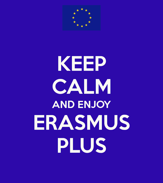 keep calm and enjoy Erasmus Plus